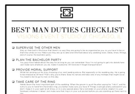 What Are Your Duties As A Best Man?   Visions Event Studio