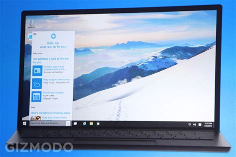 windows 10 speech tutorial windows 10 has cortana voice commands baked into every