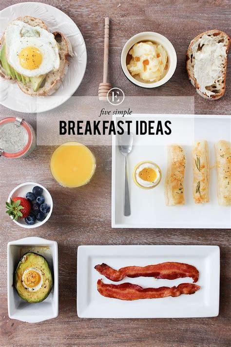 5 easy breakfast ideas theeverygirl eat drink