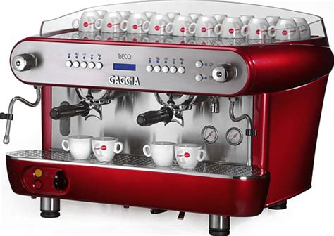 Gaggia Deco   Gaggia coffee machines from Watermark Coffee Technology