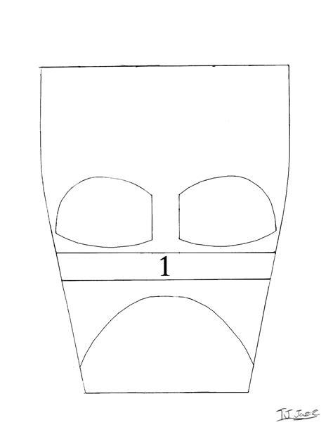 darth vader helmet templates part 1 by tj jazz on deviantart