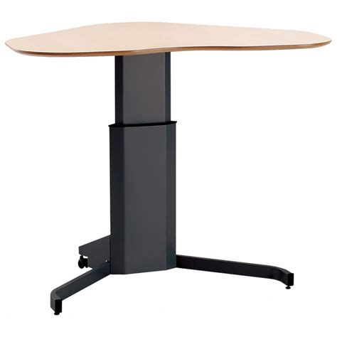Stand Or Sit Desk Shop Conset 501 7 Laminate Electric Sit Stand Desk