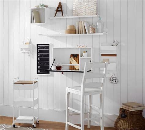 pottery barn studio wall desk wyatt workspace wall mounted desk pottery barn