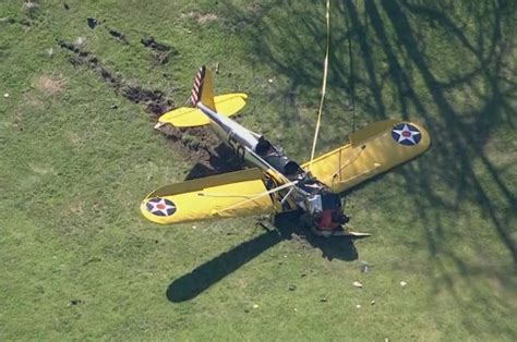 harrison ford plane crash dlisted be afraid page 1
