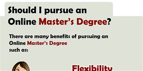 Which Major Should I Pursue If I Want An Mba by Should I Pursue An Master S Degree Infographix