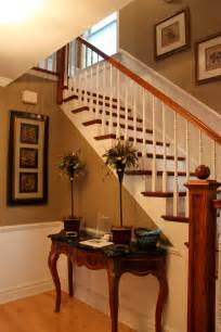 Foyer Paint Colors Sherwin Williams Updated Foyer With Accessible Beige By Sherwin Williams