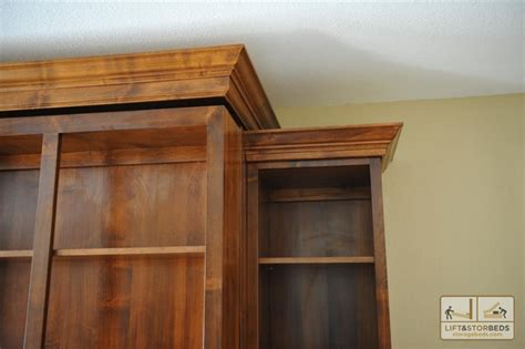 murphy bed bookcase