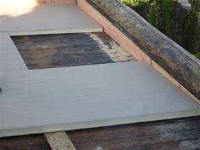 Roof Insulation Flat Roof Insulation With Rigid Foam Board How To