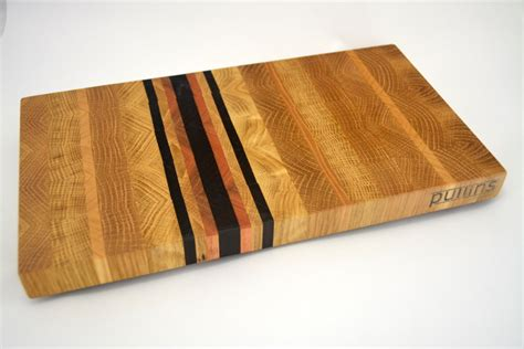 End Grain Cutting Board Oak And Red Grandis
