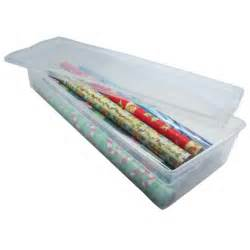Rubbermaid Gift Wrap Storage Container - wrapping paper storage box