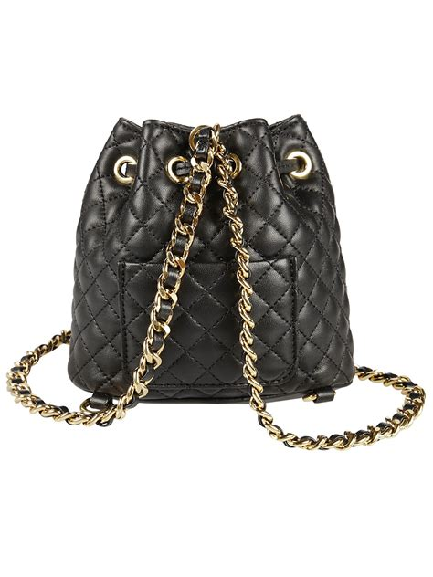 Moschino Quilted Shoulder Bag by Moschino Moschino Quilted Bag Black S