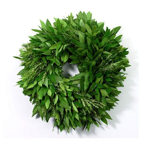 Bayleaf Wreath Bay Leaf Wreath With Rosemary