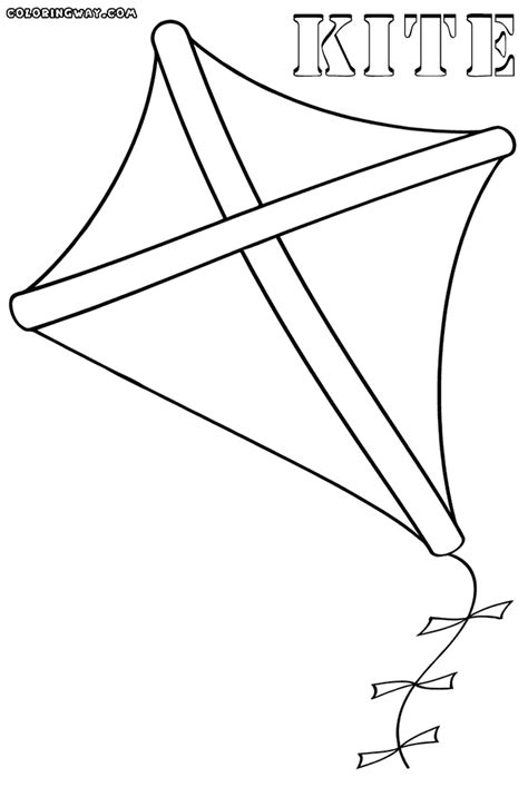 coloring pages with kites kite coloring pages coloring pages to download and print