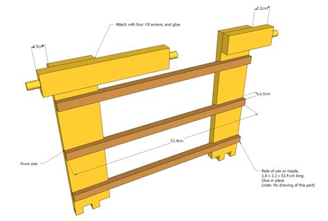 Student Desk Plans Student Desk Woodworking Plans