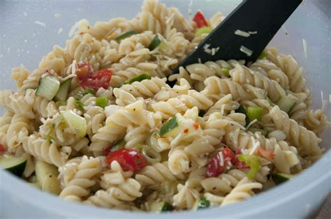 easy pasta salad recipe simple pasta salad wishes and dishes