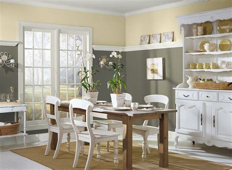 choosing marvelous wall paint color  dining room