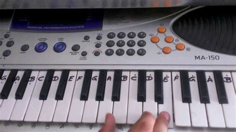 tutorial for casio keyboard jee le zara talaash casio tutorial by harsh sharma