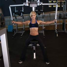 flat bench cable fly flat bench cable flyes exercise guide and video