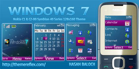 nokia c2 00 themes with ringtone windows 7 theme for nokia c1 c2 00 themereflex