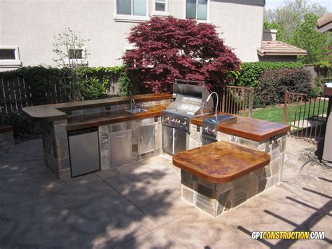 bbq outdoor kitchen islands bbq island placegpt construction