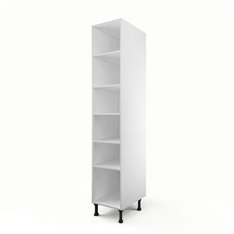 etagere 60 cm de large caisson de cuisine colonne c40 200 delinia blanc l 40 x h