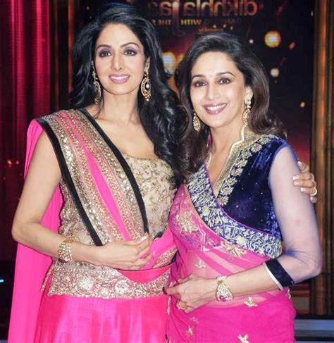 sridevi or madhuri please tell me about affairs of sridevi and madhuri dixit