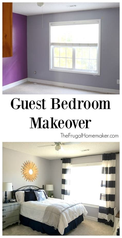 guest bedroom makeover industrial farmhouse guest bedroom makeover