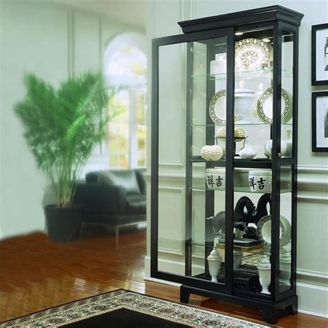 Black Curio Cabinet by Curio Cabinets House Home