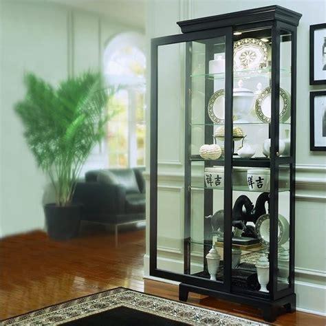 oxford black curio cabinet 20819