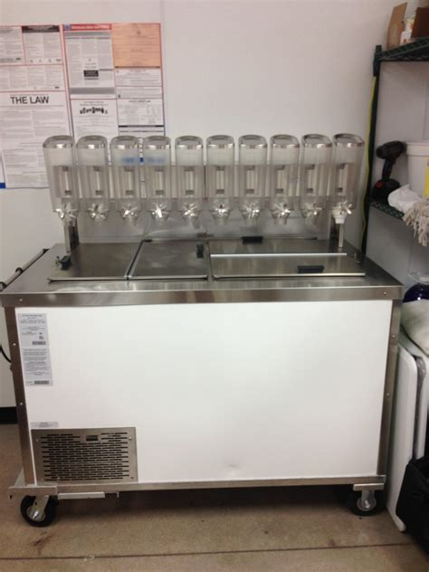 frozen yogurt toppings bar equipment frozen yogurt mobile catering carts add to your business
