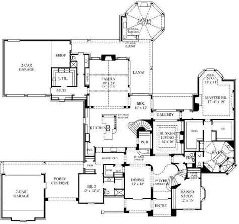 english country house plans 1000 ideas about floor plans for houses on pinterest