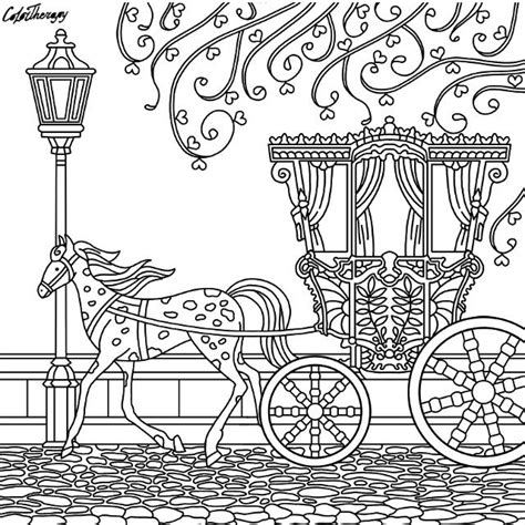 coloring pages and carriage 123 best colorir ve 237 culos images on coloring