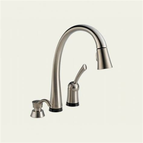 touch kitchen faucets delta touch faucet