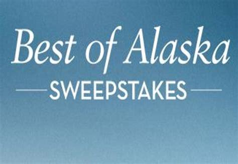 best of alaska 2015 2016 sweepstakes milesgeek milesgeek - Alaska Sweepstakes