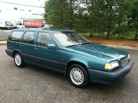 1994 volvo 850 wagon buy used 1994 volvo 850 sports wagon 5speed