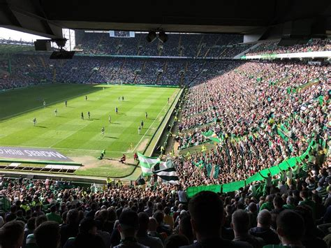 celtic park sections liverpool and safe standing the experience of celtic park