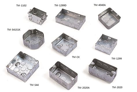 electrical accessories trust galvanized box metallic electrical accessories