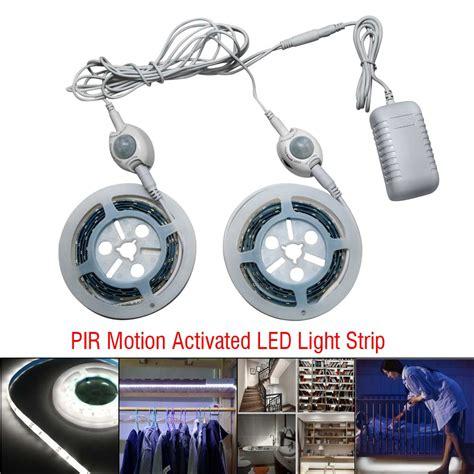 motion sensor led strip light motion activated bed light flexible led strip sensor night