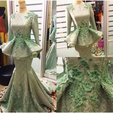 Baju Dress Bayi Perempuan Set 4in1 2 set baju pengantin songket fesyen wanita pakaian pengantin di carousell