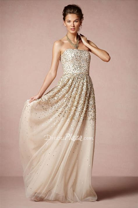 Gold Bridesmaid Dress by Gold Sequin Bridesmaid Dresses Stylecaster
