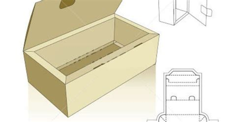 templates for boxes with lids tray template with lid and locking tabs template2