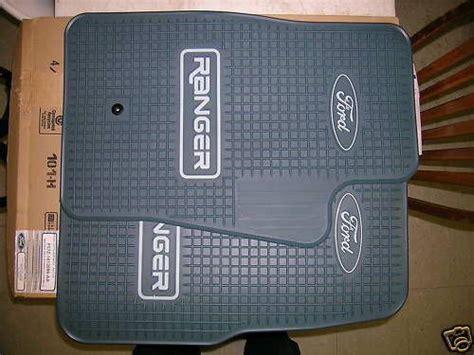2003 Ford Ranger Floor Mats - sell new oem ford ranger vinyl floor mats 1993 thru 2001