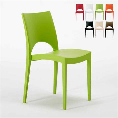 sedia cucina sedia da cucina soggiorno bar impilabile lavabile