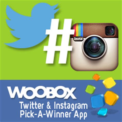 How To Pick A Winner On Instagram Giveaway - pick a winner via hashtag entry for twitter and instagram woobox blog