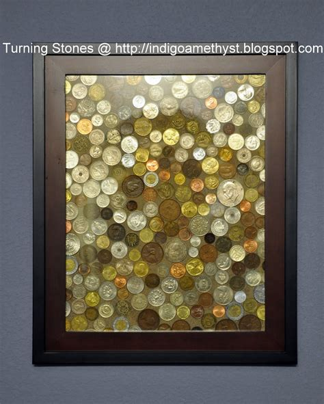 3 ways to frame art that are actually affordable huffpost turning stones blog coin art