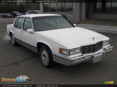 1993 cadillac sedan 1993 cadillac sedan white photo 1