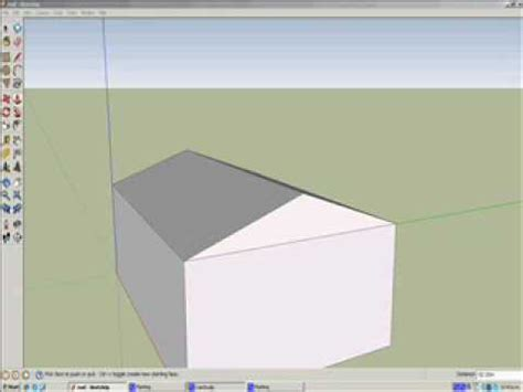 How To Build A Simple Cupola How To Make A Simple Roof In Sketchup
