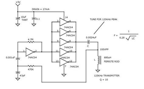 Power Supply Switching Modulr Oscilator Gacun creating 125khz oscillator electronic circuit diagram and layout