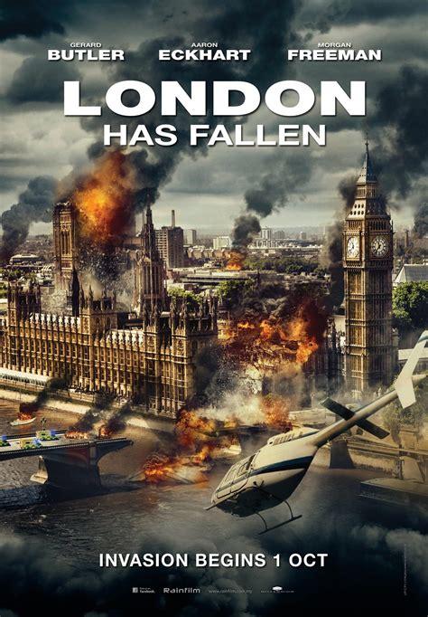 new film london s fallen new movie posters london has fallen no escape