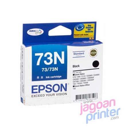 Tinta Printer Epson Stylus C90 jual cartridge epson 73n black murah garansi